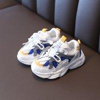 كابسيلا الاطفال طفل الفتيان الأحذية الرياضية طفلة أزياء أحذية 1-6 سنوات الاطفال لينة الوحيد تنفس الاحذية حجم 21-30 210315
