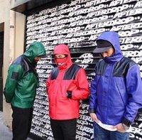 Mode Männer Mit Kapuze Jacken Wasserdichte Windjacke PU Leder Herren Outwear Mäntel Outdoor Sports Kausal Hip Hop Große Qualität JK006