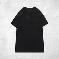 Famoso estilista hombres camisetas de espuma 3D de manga corta camiseta para hombre para mujer parejas de alta calidad.