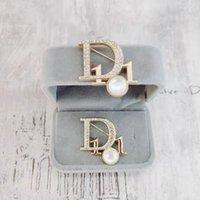Designer di lusso Spilla per le donne 2021 moda moda versatile set diamante boutique spille squisiti regali squisiti accessori di alta qualità
