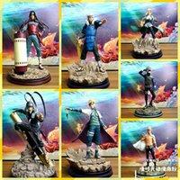 Naruto hand bakom kulisserna GK statyer förbi dynastier, apa flygande vågor mellan kolumner och dörrar, mästare av Feng Shui Gate Kakashi