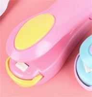 Mini macchina da sigillatura del calore portatile per uso domestico risparmiatore di plastica sacchetto di plastica sacchetto di plastica sacchetto di plastica snacks imballaggio sacchetto di plastica clip 247 s2
