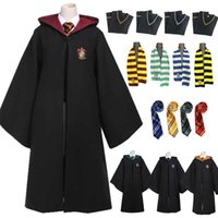 Granger Costume Magic School Robe Skirt Tie Dress Scarf Uniform Kids Adult Wizard Clothes Children Women Men Halloween Costume H0910