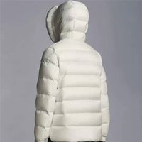 2021 Top Quality Mens Winter Down Jacket Hooded Jackets Men Women Couples Parka Outerwear Thick Coat Black White Fashion Overcome Size Coat