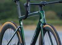 2021 새로운 탄소 프레임 도로 자전거 모든 내부 배선 BSA 하단 브래킷 700C로드 Bicyle Frameset 호환 기계적 그룹