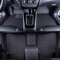 WLMWL مخصص سيارة ماتس الأرضية ل داكيا سانديرو المنفضة لوغان مقعد السيارة وسادة اكسسوارات الداخلية السيارات يغطي القدم