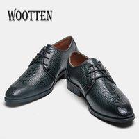 40-46 Männer Oxfords Leder Kleid Schuhe Hübsche Bequeme Worten Marke Männer Business sanfte Hochzeitsschuhe # KD6267C1 210310