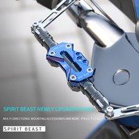 Guidon Spirit Beast Moto Moto modifié Accessoires de guidon de scooter Balance Barreau de barre de renfort
