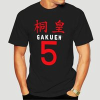 소년 티 새로운 아니오 Basuke Aomine Daiki 코스프레 티셔츠 패션 Kuroko 바구니 공 애니메이션 남성 티셔츠 짧은 소매 탑 티 아동복
