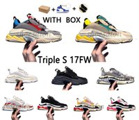 balenciaga balenciaca balanciaga Designer Triple S  Shoes Clear Bubble Midsole 2021 Triple-S Sneakers Increasing Leather Dad sudadera  mujer hombres hombre zapatillas zapatos