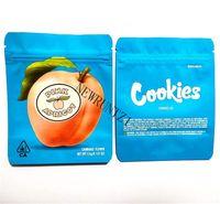 Embalaje de galletas Mylar Bolsas 35 Pink albaricoque algodón caramelo original opulencia tiburón bocado la su alteza 420 Flower Embalse Bag
