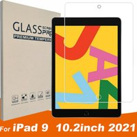 Tablet Glass Film For iPad 9 2021 10.2 inch 2019 Screen Protector 9H Tempered Glas in Reail BOX Package dhl free ship