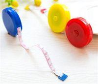 200pcs Cuerpo retráctil de medición de la regla de la regla de costura de la cinta métrica suave 60 30 V2