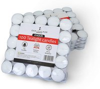 Homeware Candles Tealights 4 Hour Burn Time 12g, 100 Pack Shrink Wrapped: Amazon.co.uk: Kitchen & Home