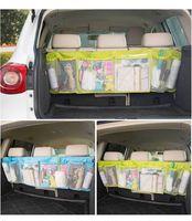 كبير السيارات منظم السيارات التمهيد متعددة الوظائف طوي القمامة شنقا أكياس التخزين المنظم لسعة مقعد السيارة تخزين الحقيبة WLL253