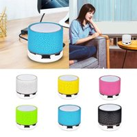 Portable Speakers Mini Bluetooth-compatible Speaker Wireless Loudspeaker Crack LED TF Card USB Subwoofer MP3 Music Sound For PC Mobile Phone