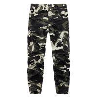 Herrenhose Favocent 2021 Herbst und Winter Freizeithose Mode Camouflage Streetwear Männliche Komfortable Lose Hose über Größe