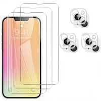 Tempered Glass For IPhone 13 Pro Max Protective Glass For iphone13 13 mini 13pro max Screen Camera Lens Protection Film