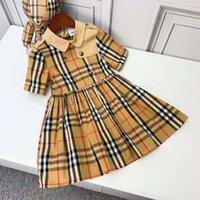 طفل فتاة زهرة اللباس مصمم الطفل تي شيرت + تنورة الملبس مجموعة الصيف طفل الفتيات بوتيك ملابس 100-150 سم الاطفال طفل الملابس مجموعات