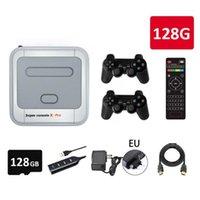 Super Console X Pro WiFi 4K HD per PSP / PS1 / N64 Portable Retro TV Gaming 50000+ Games wireless Gamepad1