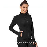 2021TOP ткань женская тренировка йога куртка полная на молнии