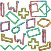 Wacky Pistleri Snap ve Tıklayın Fidget Oyuncaklar Yılan Bulmacalar Oyuncaklar Çocuklar için Yetişkinler Parti Adhd Otizm Stres Rölyef Parmak Tutar FY7623