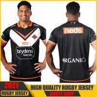 2021 Wests Tigers Rugby Home Jersey Dimensioni: S-5XlLa qualità è perfetta.
