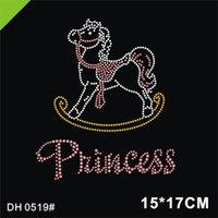 Бесплатная доставка качалка лошади буква утюг на горячей фиксировании горный хрусталь трансфер мотив diy dh0519 #