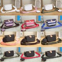 2021 Новые Роскошные Модные Сумки Multi Pochette Accessoires Кошельки Женщины Любимые Mini 3 ШТ. Набор комбинированные Сумки через Crossbody Сумки