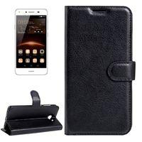 Casi per Huawei Y5 II Litchi texture in pelle orizzontale in pelle flip con portafoglio a fibbia magnetica