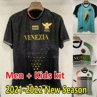 Venezia FC Soccer Jerseys 21/22 # 10 Aramu # 11 Forte Venedig Home Away 3. Football Shirts Peretz Busio Mazzokchi Hemd 2021 2022 Männer Kinder Kit Uniformen MAILLOT DE FUTOL