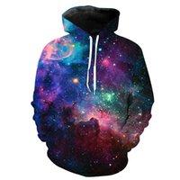 Men's Hoodies & Sweatshirts Moletom Com Capuz 3d Masculino, Para Homens E Mulheres, Design Da Moda, Galaxy Fire, Outono