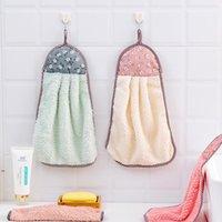 Fruit Soft mouchoir à la main Effacer une serviette suspendue serviettes de toilette absorbant incapacité d'accessoires de cuisine sans peluche DWF8545