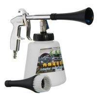 Lavadora de automóviles Pistola de limpieza de pulso de aire de alta presión con pincel Multifuncional Superficie Interior Exterior Kit