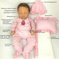 Avani Doll 'Eve' Soft Silicone Vinyl Baby Dolls Lifelike Reborn Girl for Kids Newborn