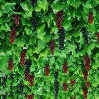 Decorative Flowers & Wreaths 10 Pieces   Lot Artificial Silk Plant Grape Vines Garland Ivy Creative Simulation For Wedding Garden Home Decor