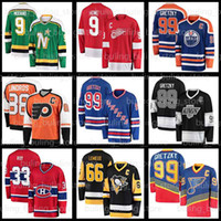 99 Wayne Gretzky Hockey Jerseys 11 Mark Messier 9 Gordie Howe Mike Modano 66 Mario Lemieux Pavel Bure Patrick Roy Eric Lindros Bobby Orr