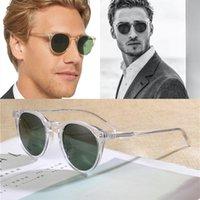 2021 Nowy Vintage Clear Ramki Ov5183 Spolaryzowane Okulary Mężczyźni O'Malley Retro Lady Kobiety Octate Shade Kobiet Okulary Słońca UTGS