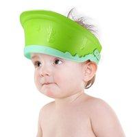 어린이 샴푸 방수 귀 보호기 흔히 아기 샤워 캡 조정 가능