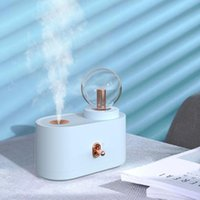 Humidifiers Wireless Ultrasonic Air Humidifier USB Portable Aroma Diffuser Atomizer With Night Light Home Humidificador Mist Maker Purifier