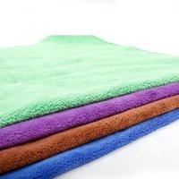 الألياف الكلب منشفة سريعة الجافة تجفيف المناشف أزياء الحيوانات الأليفة حمام المناشف تنظيف القماش إمدادات الحيوانات الأليفة 40 * 60 سنتيمتر GWC6738