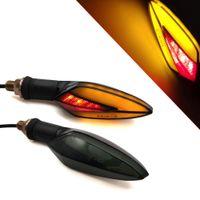 Для BMW C600 C650 SPORT SPORT C650GT C400GT S1000RR Светодиодные сигналы поворота мотоциклов светлые задние фонари моторные аксессуары Желтая красная лампа