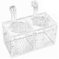 Aquarien Aquarium Zucht Isolation Box Acryl Fischtank Accgrimation Brüterei Inkubator Halter Teiler Für Fische Garnelen