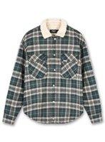 21fw New Hip-hop Vintage Plaid Represent Jacket Men Women 1:1 High Quality Double Pockets Heavy Fabric Shirt Overcoat