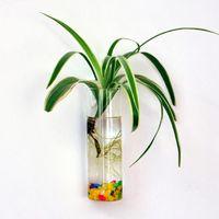 2021 parede pendurado vidro flor plantador vaso planta pote terrarium home jardim