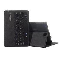 Bluetooth-Tastaturkoffer für Samsung-Galaxie-Registerkarte A 10.1 T580 / T585 T820 / T825 Wireless Bluetooth3.0-Tastatur mit wiederaufladbaren Akku-faltbaren Lederabdeckungen