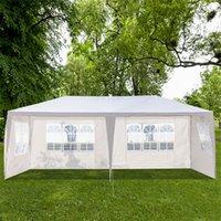 3 х 6 м оттенок открытый сад свадьба палатки Pergolas четыре стороны портативный дом пользоваться водонепроницаемым со спиральными трубками белая палатка для навесов пикника