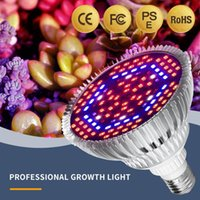 Grow Lights Juss Fort LED Planta Luz Completa Spectrum 30W50W80W Plantación de Greenhouse Vegetal Simbering Growth E27