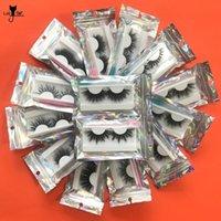 False Eyelashes Lashes Mink 25mm Wholesale In Bulk Eyelash Extension Top Quality Lash Vendors 5D Set