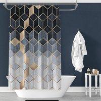 샤워 커튼 크리 에이 티브 디지털 인쇄 커튼 방수 폴리 에스터 욕실 커튼 햇빛 샤워 커튼 사용자 정의 재고 있음